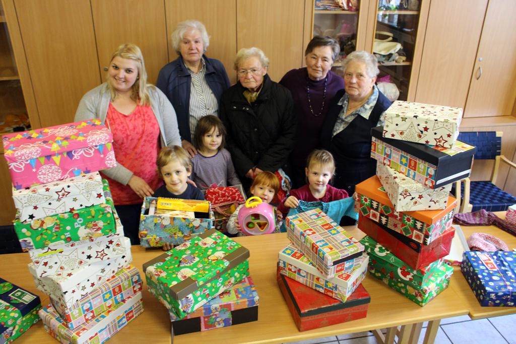 Weihnachten im Schuhkarton : Evangelische Elias Kirchengemeinde Dortmund